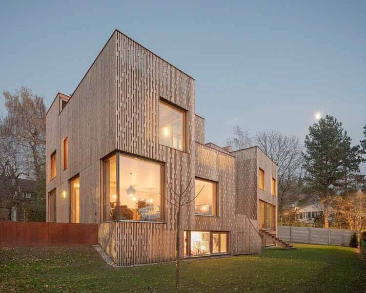 3 смежных дома / PONT12 architectes, © Matthieu Gafsou