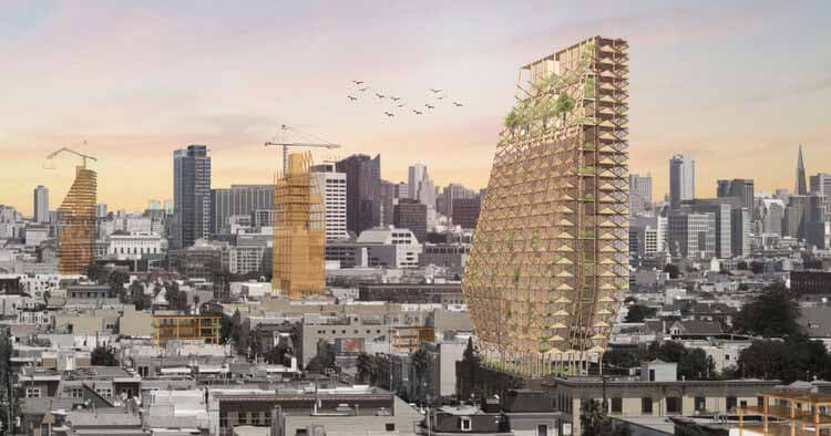 Четыре проекта, которые показывают, что массовая древесина - это будущее американских городов, любезно предоставлено DLR Group