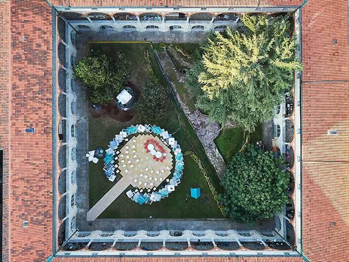 5 лучших сооружений, спроектированных архитекторами на выставке Salone del Mobile 2021 года, Circular Lab.  Изображение © Марко Менги