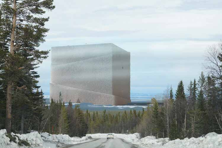 Самая большая деревянная конструкция в мире, представленная Anders Berensson Architects, предоставлена Anders Berensson Architects