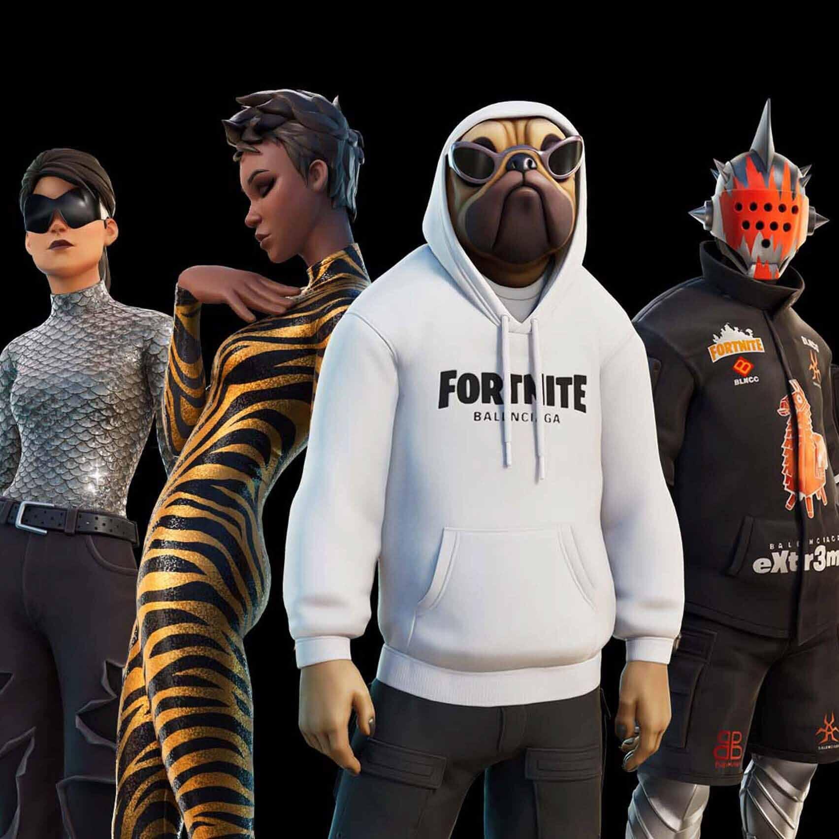 «Аутентичный внешний вид Баленсиаги» выпущен в видеоигре Fortnite