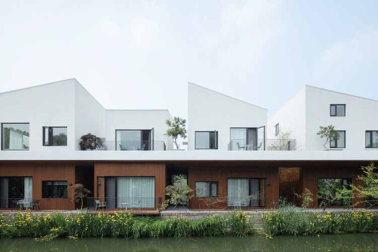 BAN Villa / BLUE Архитектурная студия, Экстерьер.  Изображение © Чжи Ся