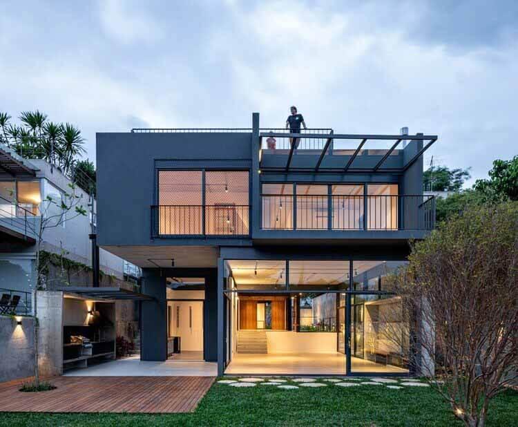 Casa Anunze / ARKITITO Arquitetura, © Fran Parente