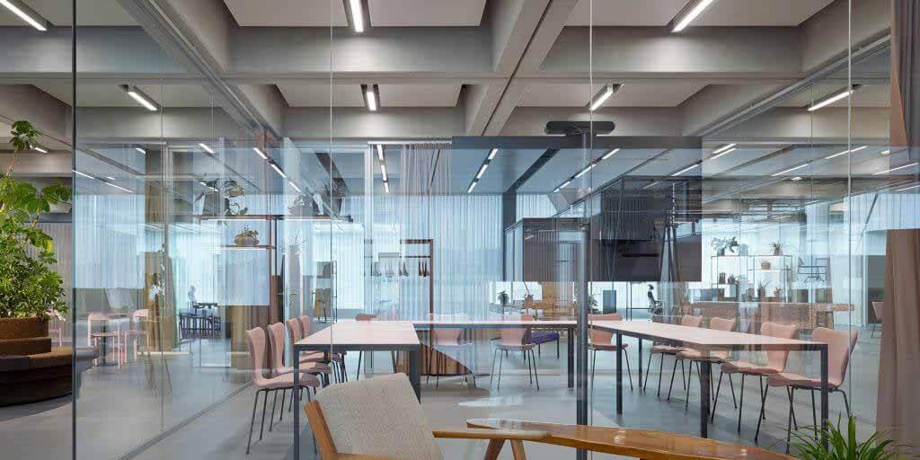 Christ & Gantenbein делает офис Roche максимально гибким