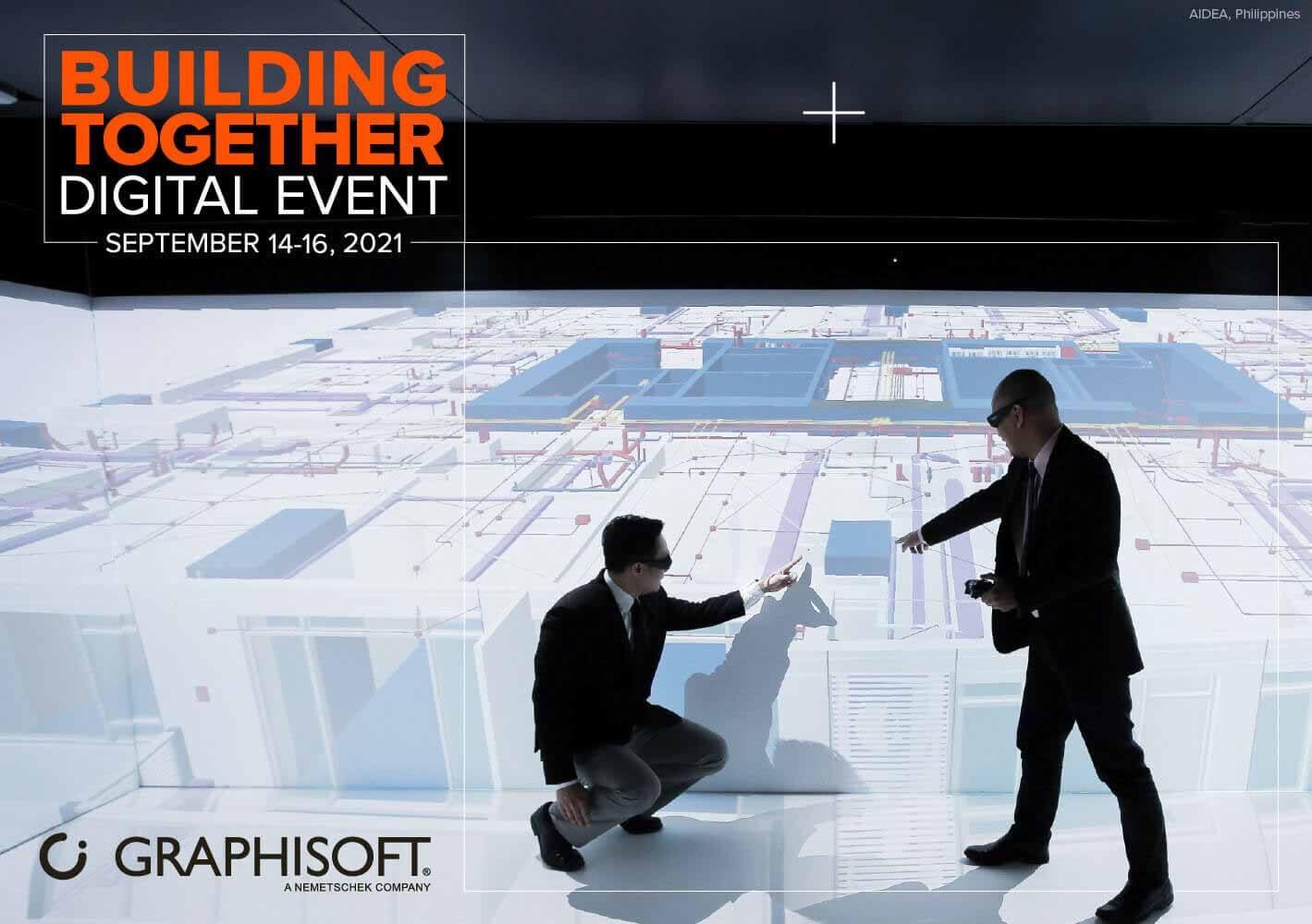 Цифровое событие Graphisoft Building Together 2021 уже не за горами