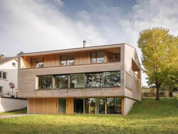 Дом П / Дитрих    Untertrifaller Architekten, © Альбрехт И. Шнабель