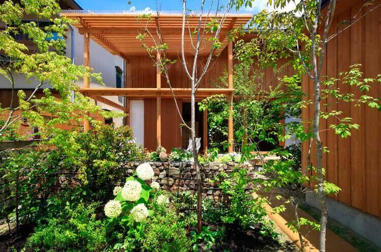 Дом с небольшим садом / План 21, © Акира Уэда