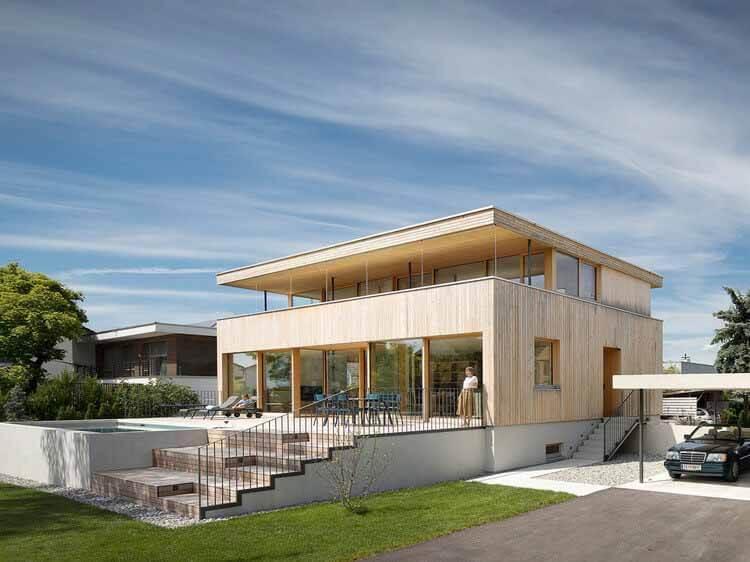 Дом СТА / Дитрих    Untertrifaller Architekten, © Альбрехт И. Шнабель