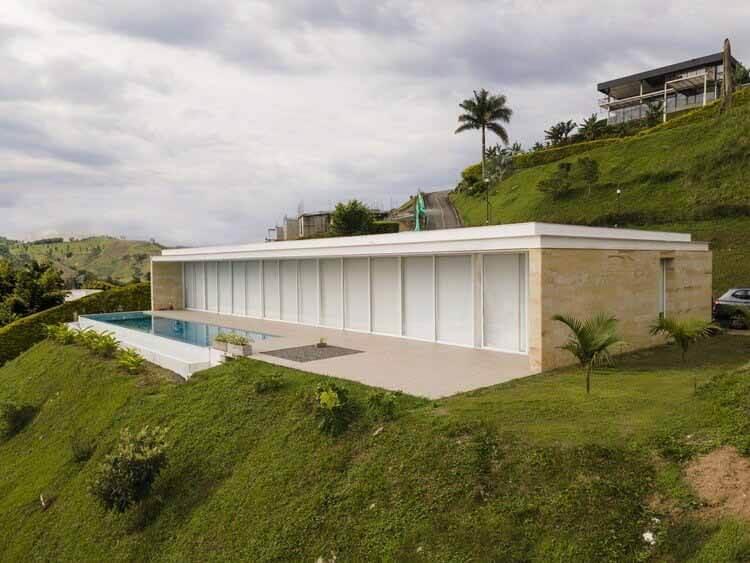 Дом Урибе Киньонеса / Архитектор Даниэль Урибе, © Серджио Эскобар