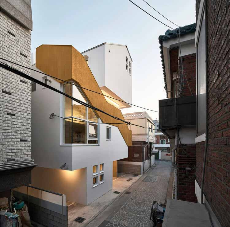 Дом-переулок / Todot Architects and Partners, © Чой Джинбо