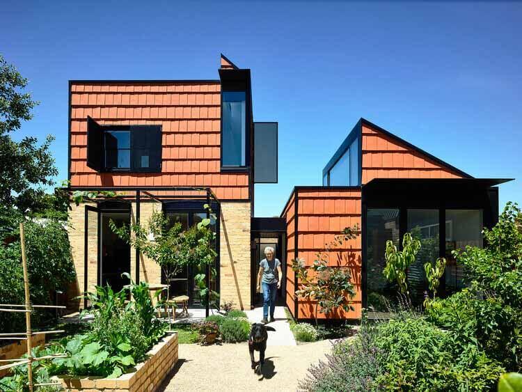 Домашние сады: жилые проекты с участием сельского хозяйства, фото © Derek Swalwell