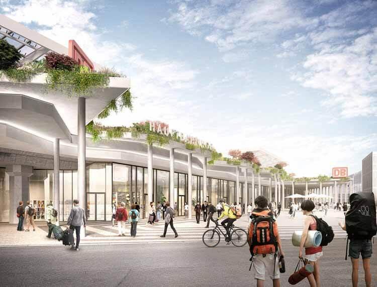 Дж. Майер Х. выбран в качестве дизайнера нового фасада главного вокзала Кельна, любезно предоставлено Bloomimages