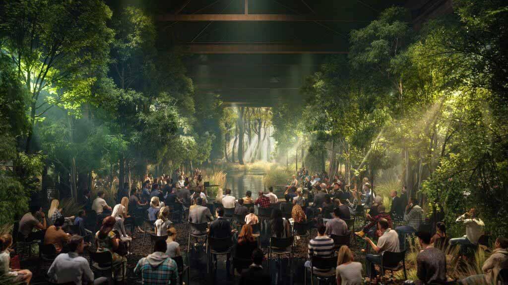Эс Девлин проведет «конференцию» деревьев как инсталляцию во время COP26