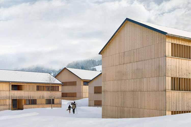 Fuchsegg Lodge Hotel / Ludescher + Lutz Architekten, © Э. Людешер