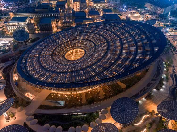 Grimshaw Architects проектирует павильон устойчивого развития на выставке Expo 2020 Dubai, предоставлено Expo 2020 Dubai