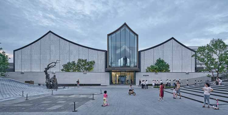 Художественный музей Сюй Вэй и площадь Цинтэн / UAD - ACRC, © Jonathan Leijonhufvud