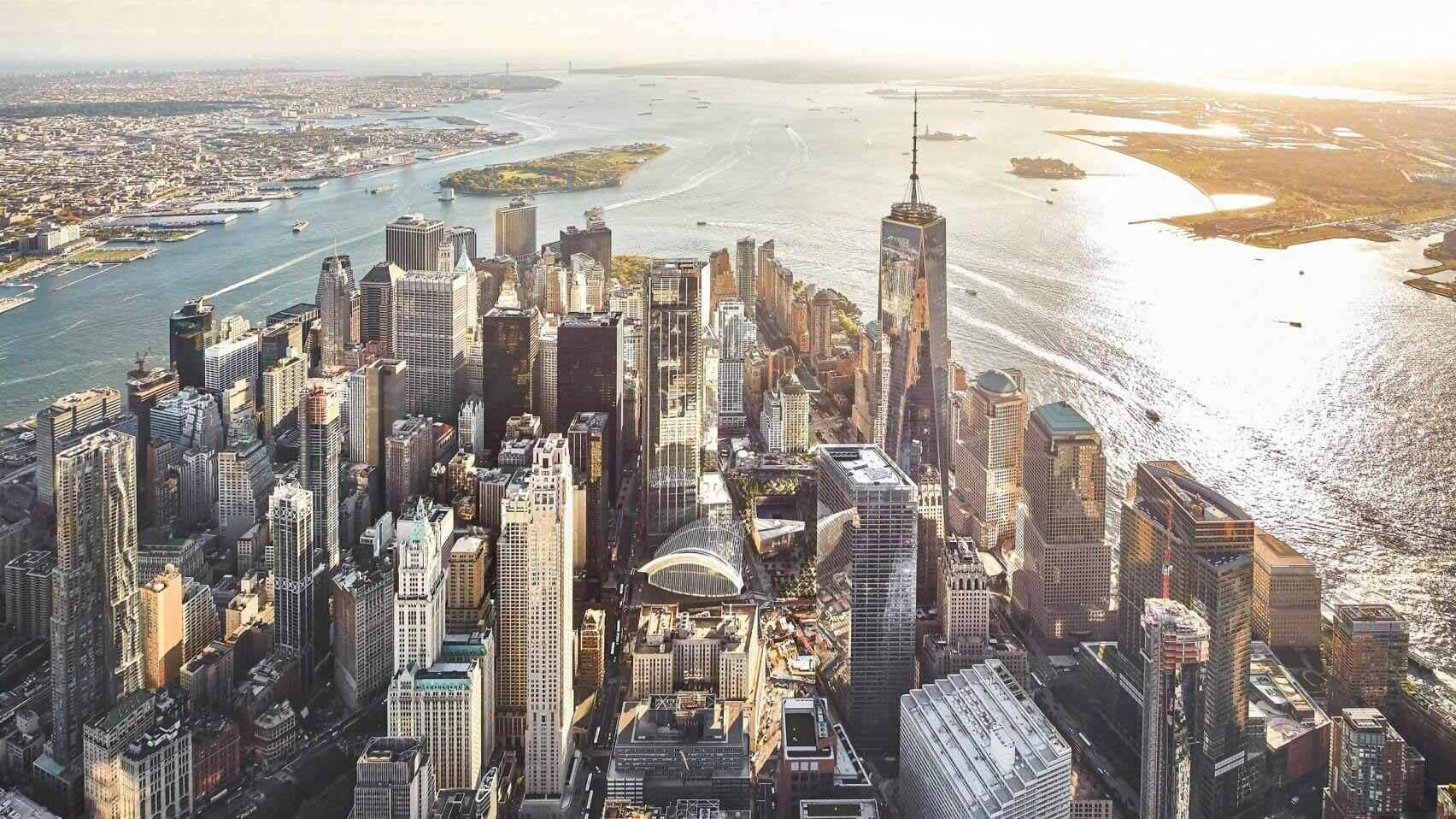 как была перестроена площадка Всемирного торгового центра