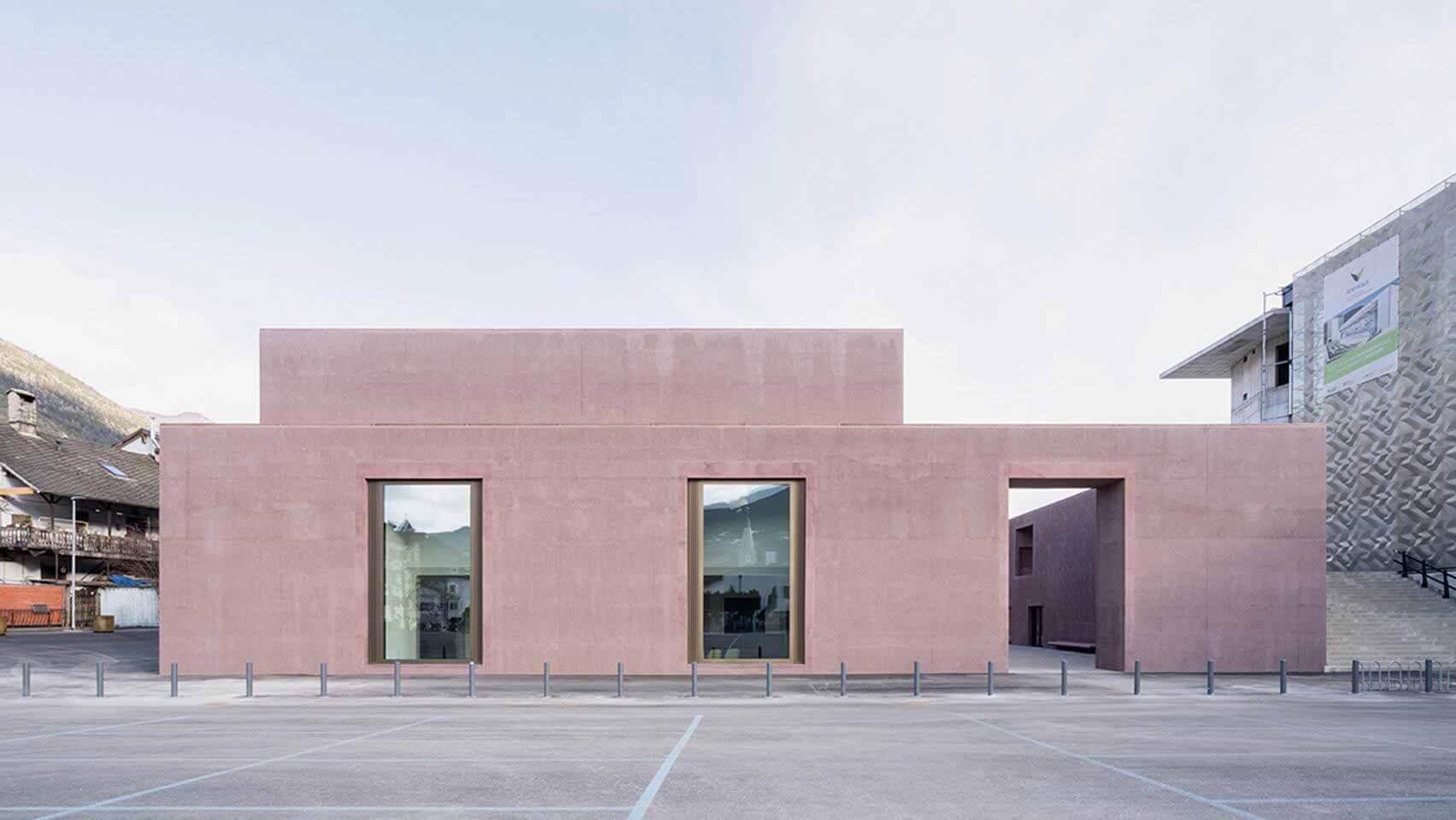 Карлана Меццалира Пентималли создала дизайнерскую музыкальную школу из бетона