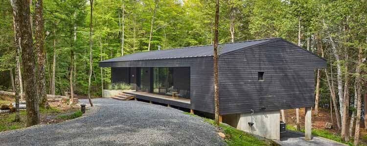 Kennebec Lakehouse / Zerafa Studio, © Том Арбан