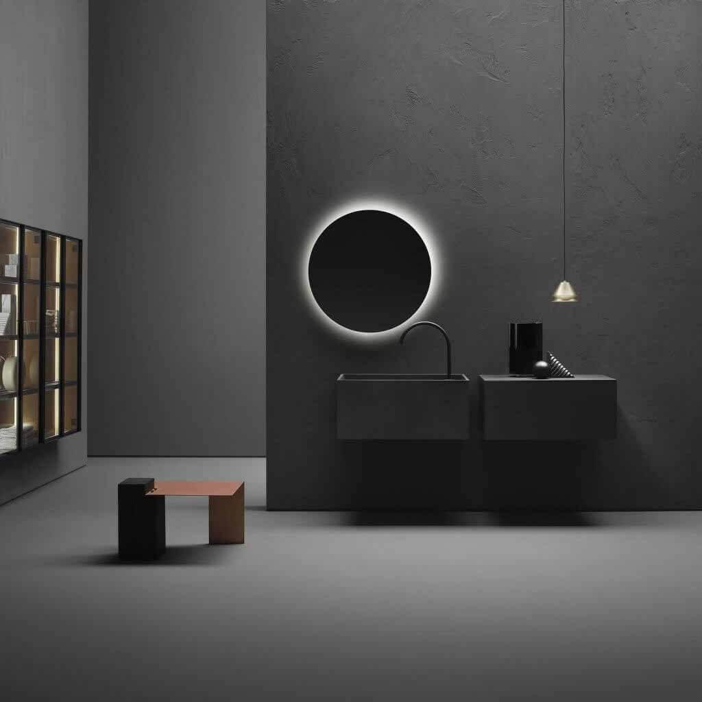 Коллекция для ванной Minimum от Виктора Васильева для Falper