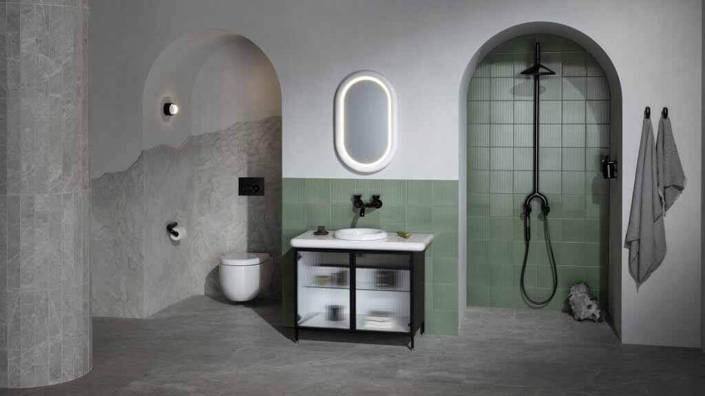 Коллекция жидких ванных комнат Tom Dixon для VitrA