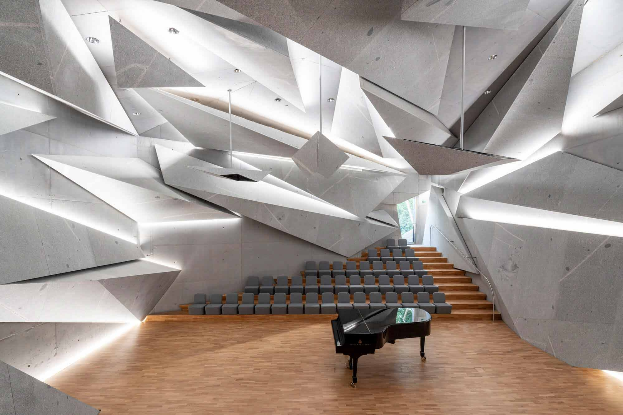 Концертный зал Вилла Марто / петер хаймерл.архитектур