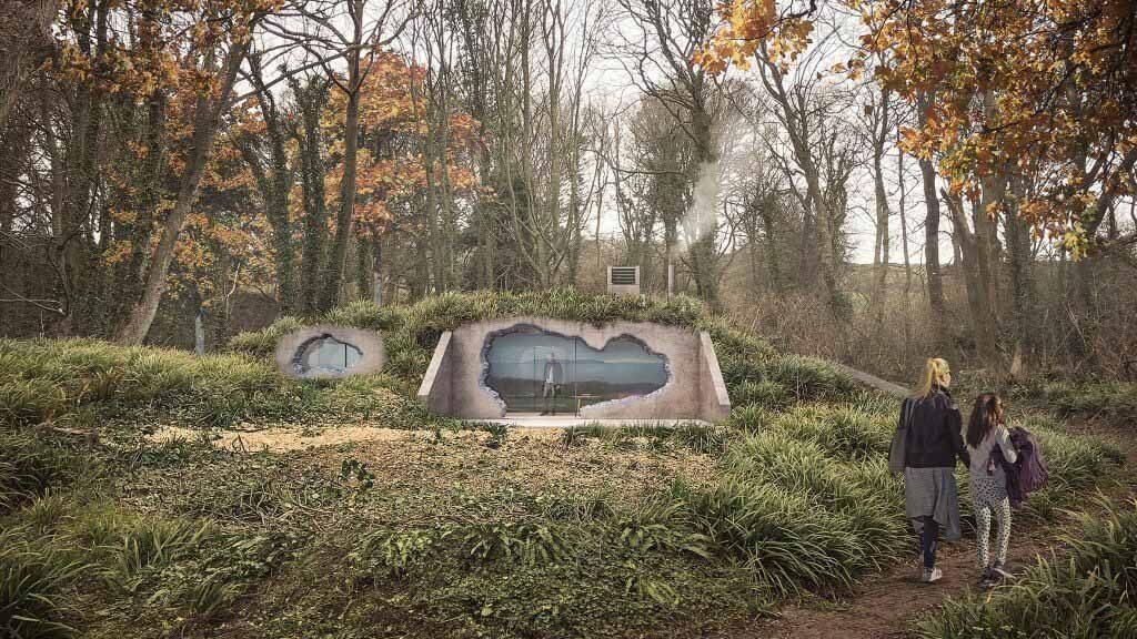 Lipton Plant Architects превратили бункер времен Второй мировой войны в дом для отдыха