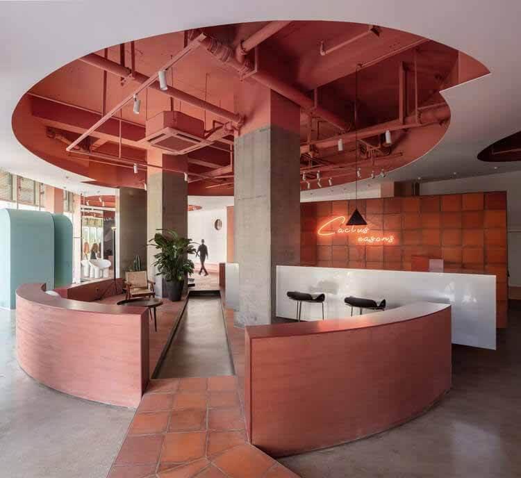 Магазин модной одежды Cactus / Boundary Space Design, войдите на второй этаж, T.  Изображение © Цян Шэнь