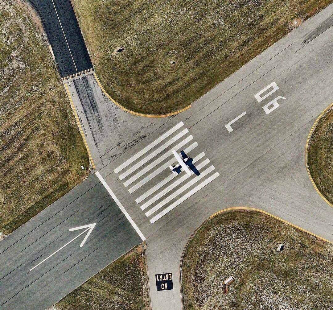 Масштаб потери: аэропорты, вид сверху