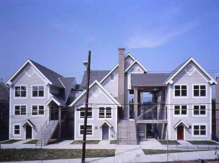 Местное может быть универсальным, любезно предоставлено Duo Dickinson Cephas Housing, Йонкерс, Нью-Йорк