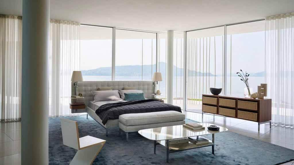 Ночная кровать Volage EX-S от Филиппа Старка для Cassina