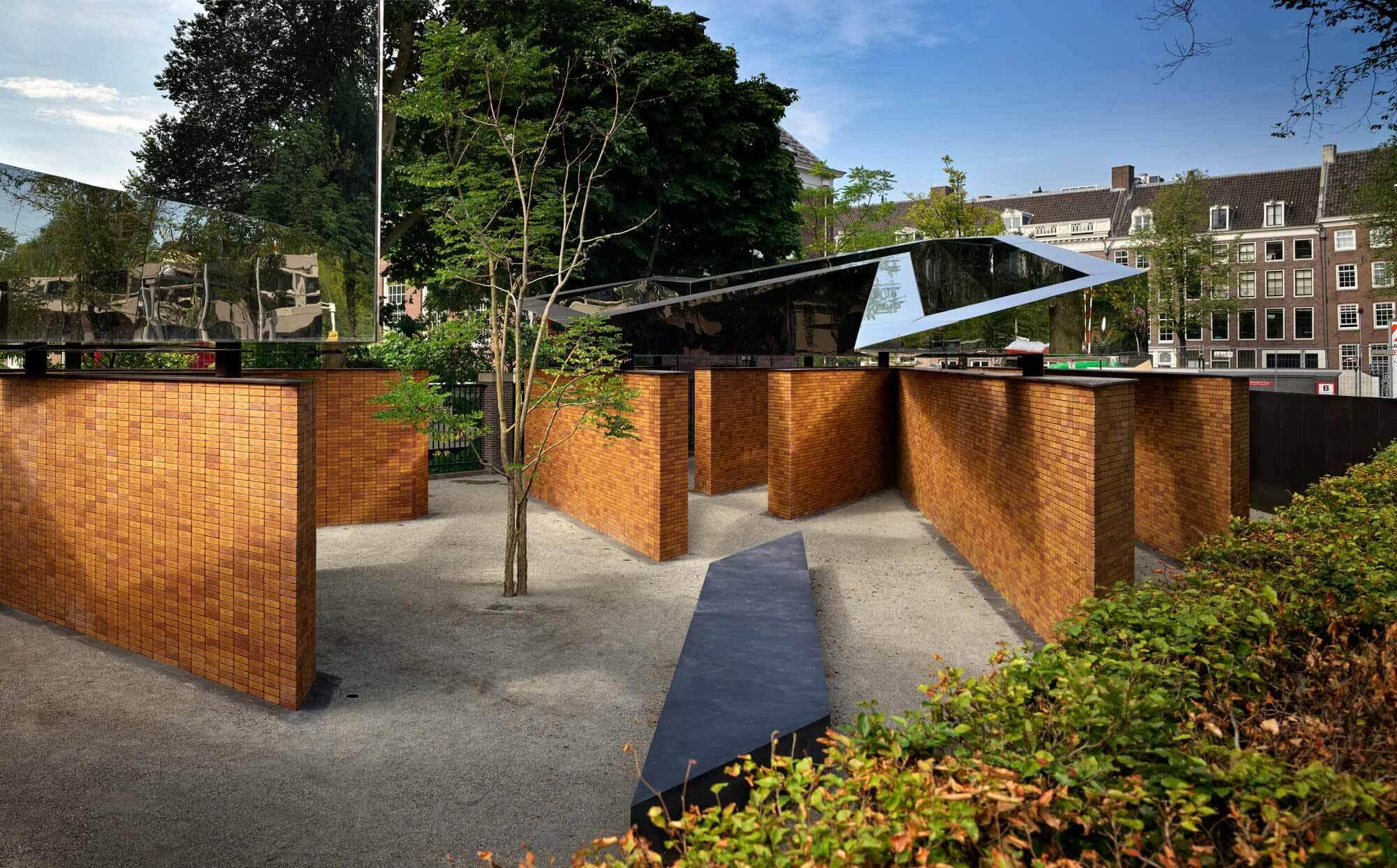 Общественное пространство в Голландском мемориале имен Холокоста / Rijnboutt + Studio Libeskind