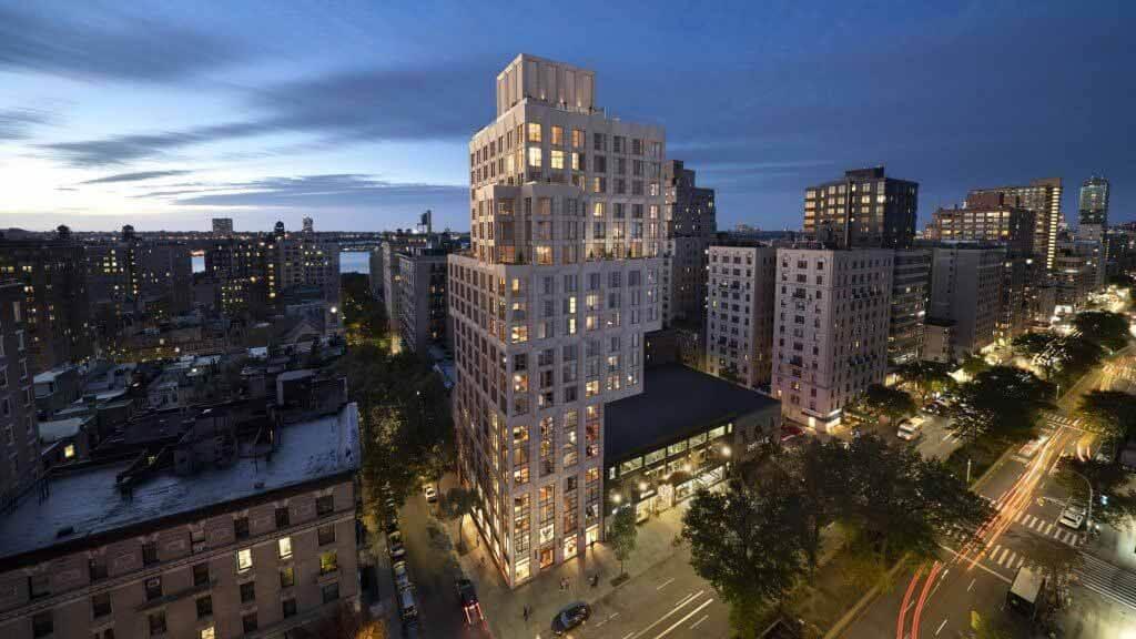 ODA проектирует башню на Манхэттене, размер которой увеличивается по мере подъема