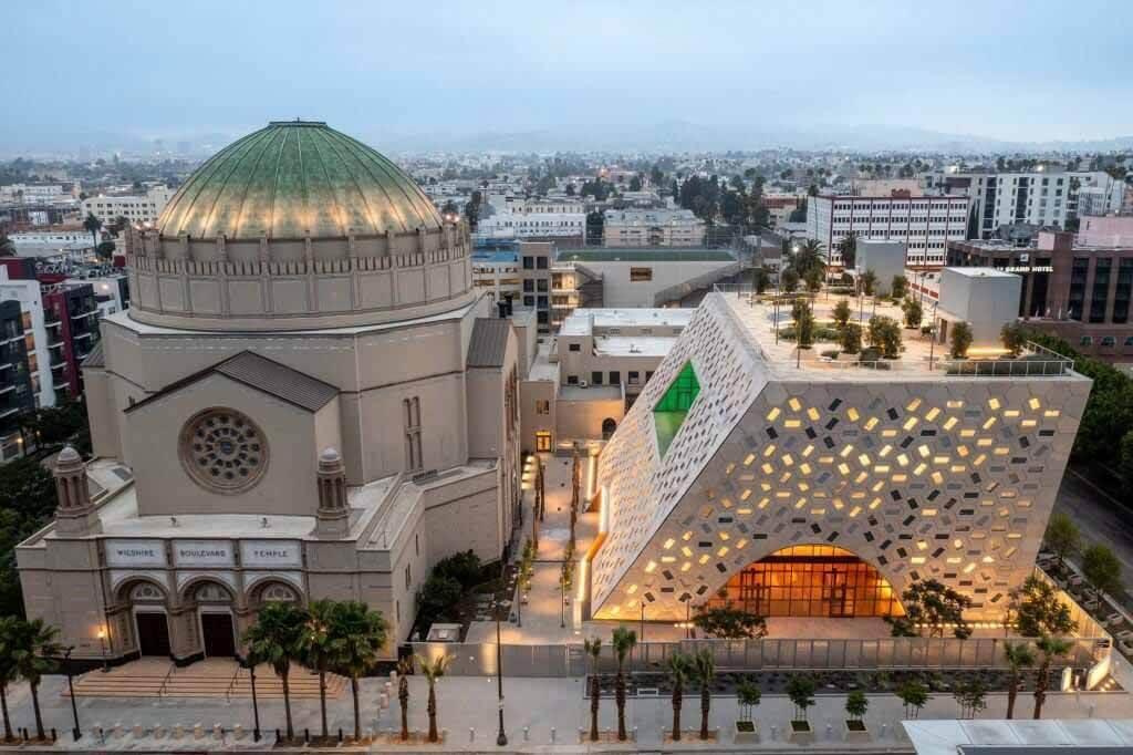 OMA проектирует пристройку к еврейскому храму в Лос-Анджелесе