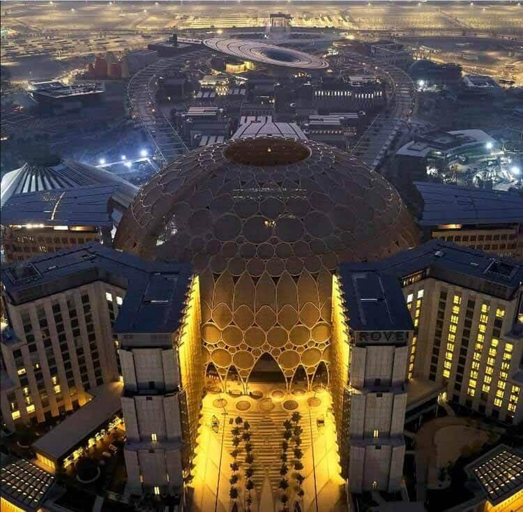 Остался 1 месяц: Expo Dubai 2020 представляет новые изображения, Al Wasl Plaza и павильон устойчивого развития.  Изображение предоставлено Expo 2020 Dubai