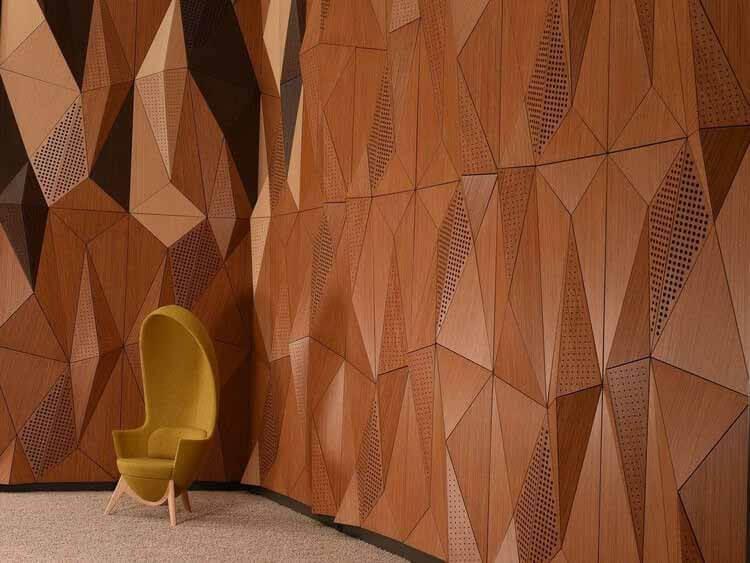 От гостеприимства без эха к чистым конференц-залам: создание идеального звукового ландшафта, модульная система Mywall от Fantoni.  Изображение предоставлено Fantoni