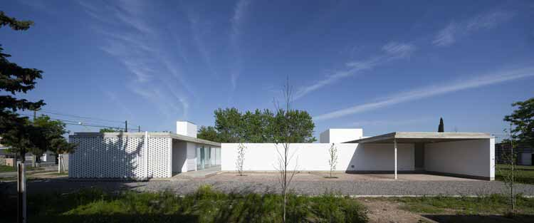 Приходской дом / Монти Бруно Мореро, © Хавьер Агустин Рохас