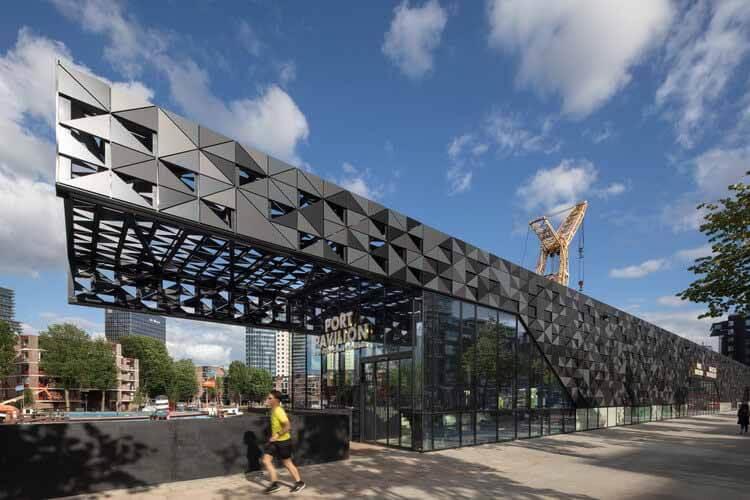 Павильон порта Роттердам / MoederscheimMoonen Architects, © Барт ван Хук
