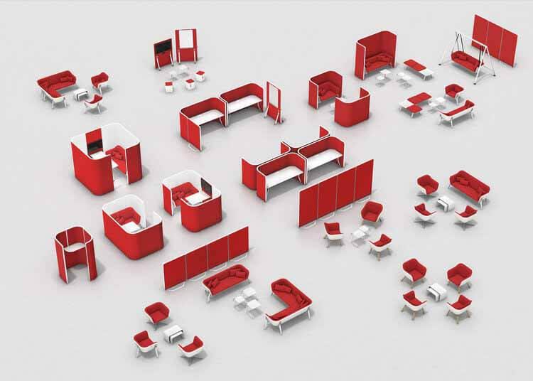 Plug and Play: 7 гибких рабочих мест в современном офисе, © Interstuhl
