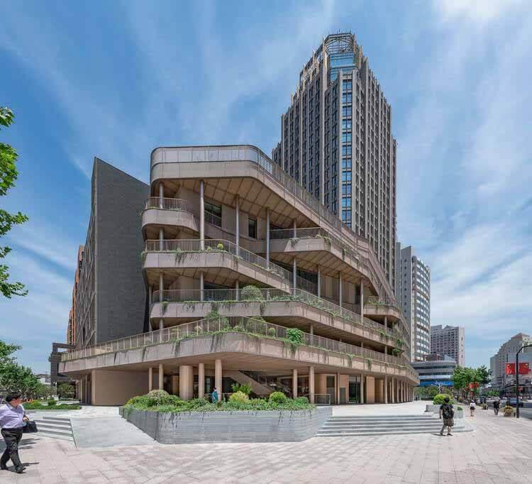 Трансформация площади Кайлун Цзяцзе в Шанхае / Архитектура AIM, © Дирк Вейблен