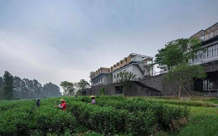 (Ре) формирование чайных дворов Duichuan / O-office Architects, © Chao Zhang