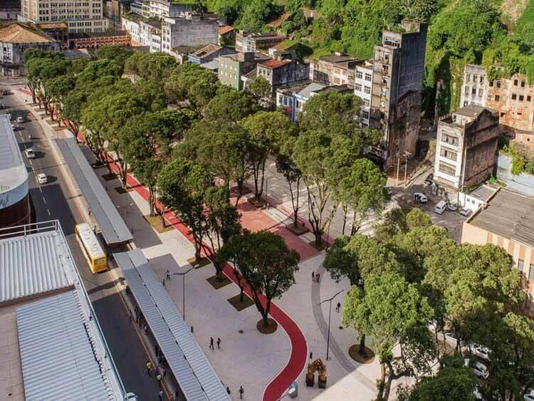 Реконструкция площади Marechal Deodoro Square / Sotero Arquitetos, © Tarso Figueira