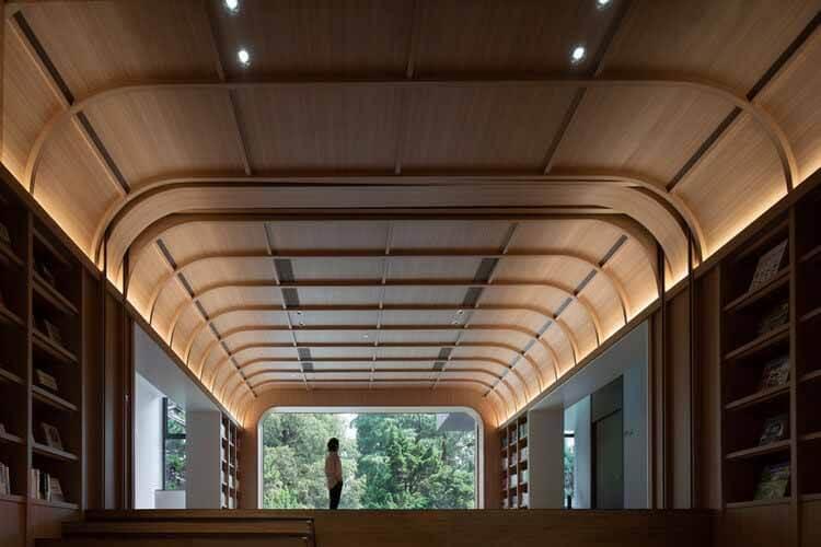 Ремонт библиотеки в Нанкинском педагогическом университете / дизайн DUTS, © Qingshan Wu