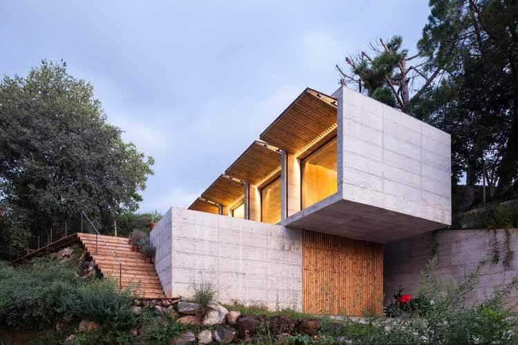 Retina House / Arnau estudi d'arquitectura, © Марк Торра