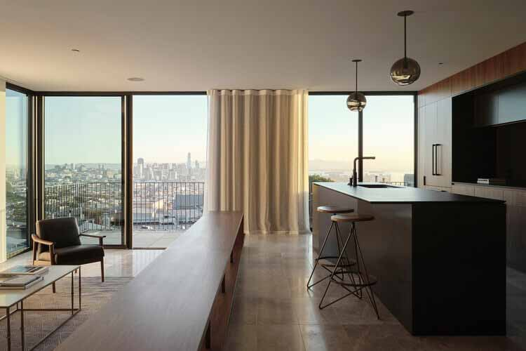 Резиденции Твин Пикс / Архитектура Майкла Хеннесси, © Adam Rouse Photography