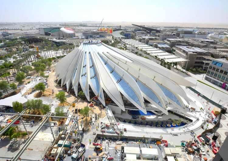 Сантьяго Калатрава представляет дизайн павильона ОАЭ для Expo 2020 Dubai, любезно предоставлено MOPA