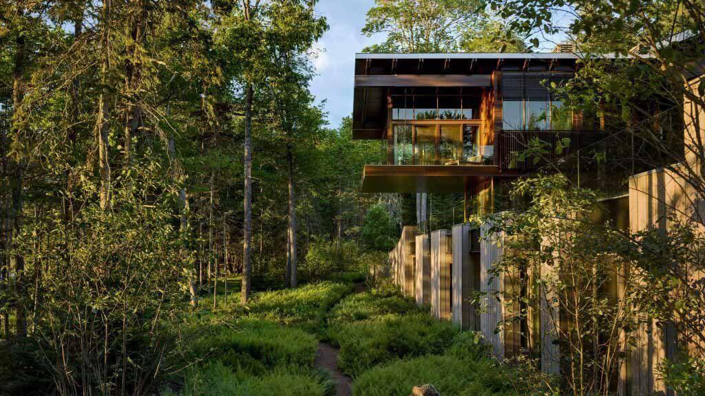 SPAN Architecture строит Astor Residence на удаленном побережье штата Мэн