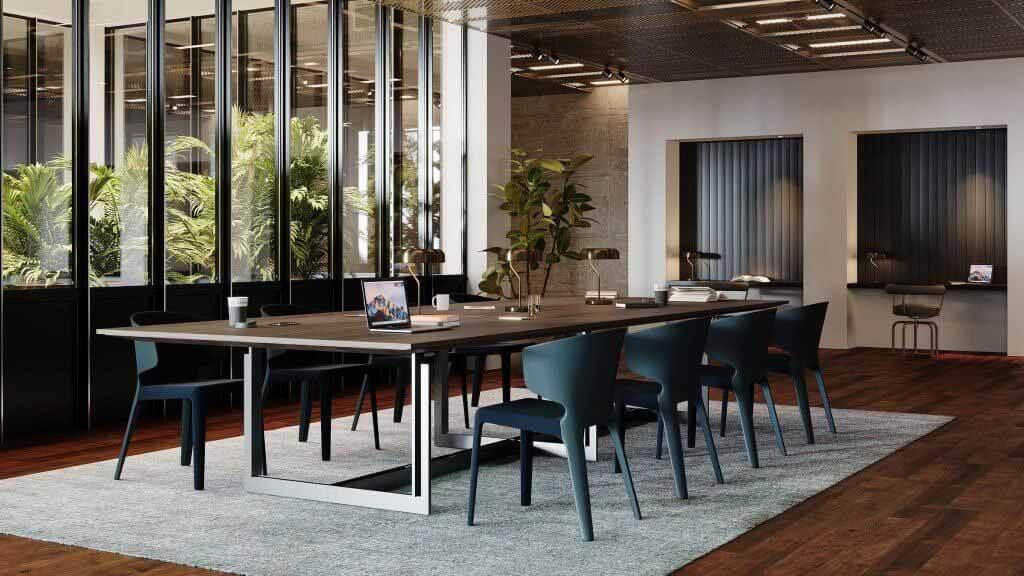 Стол Sarpi Office Pro от Карло Скарпа для Cassina