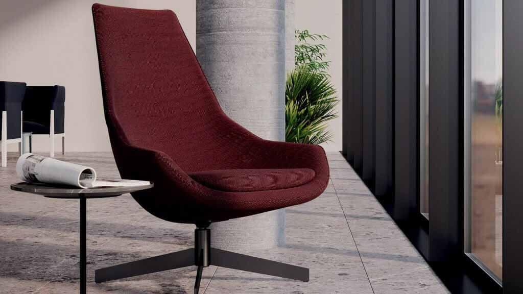 Стул Exord Pro от Джеффри Бернетта для мебельного бренда Cassina