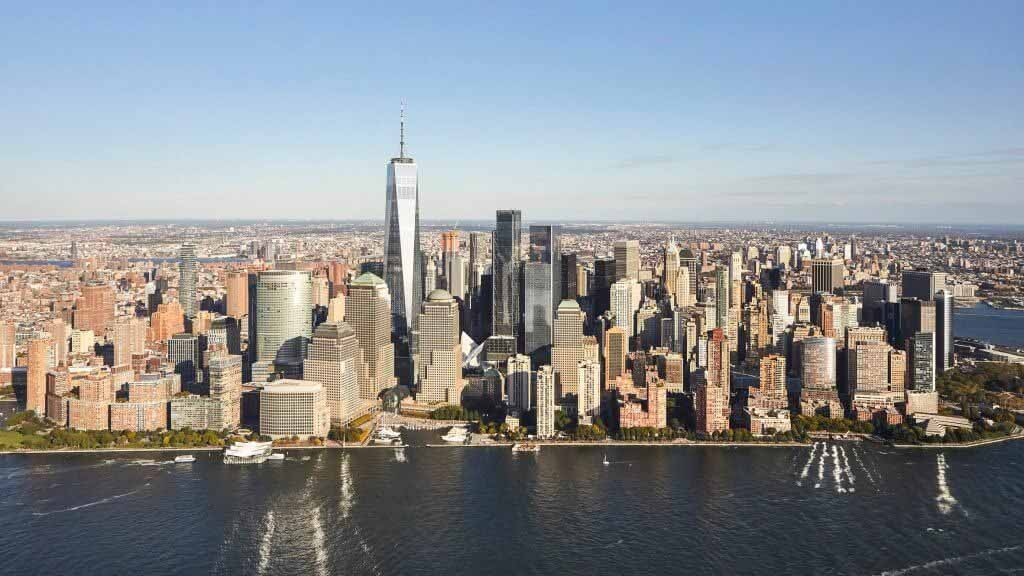 Восемьдесят четыре процента небоскребов были построены после 11 сентября.